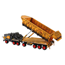 Модель грузовика-самосвала Wandering Earth 1:144 литые под давлением металлические модели автомобилей Высокая имитационная модель грузовика из сплава Модель автомобиля игрушки