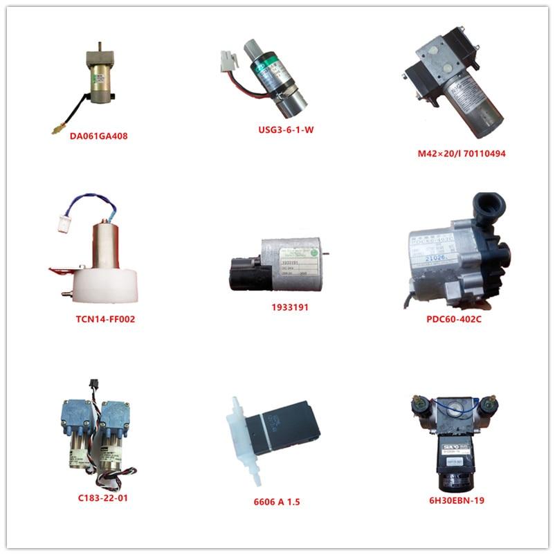 DA061GA408| USG3-6-1-W| M42×20/l 70110494| TCN14-FF002| 1933191| PDC60-402C| C183-22-01| 6606 A 1.5| 6H30EBN-19 Used  Working