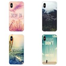 Jesus Christian Bible Verse Soft Cellphone Transparent For Apple iPhone 4 4S 5 5C 5S SE 6 6S 7 8 Plus X XS Max XR(China)
