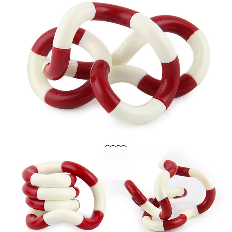 Tangle Fidget Toy Sensory-Roller Relax Brain Stress Kids Focus-Toy Adult Child for Rope img5