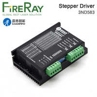 FireRay Leadshine 3ND583 3Phase Stepper Motor Driver 20-50VDC 2.1-8.3A Match with 57 86 Series Motor