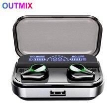 цена New T10 TWS Bluetooth headset fingerprint touch HD stereo noise reduction gaming headset wireless Bluetooth headset онлайн в 2017 году