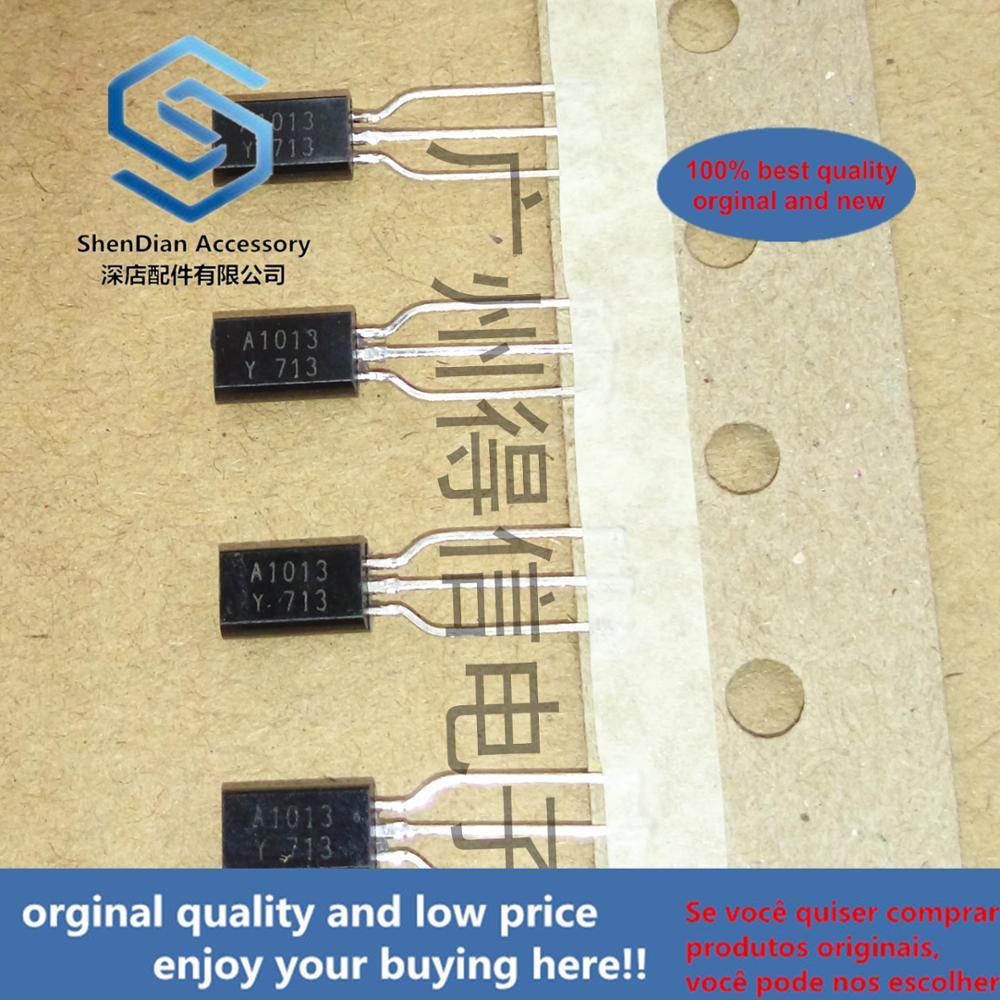 30pcs 100% Orginal New 2SA1013Y A1013Y 1013 TO-92L Real Photo