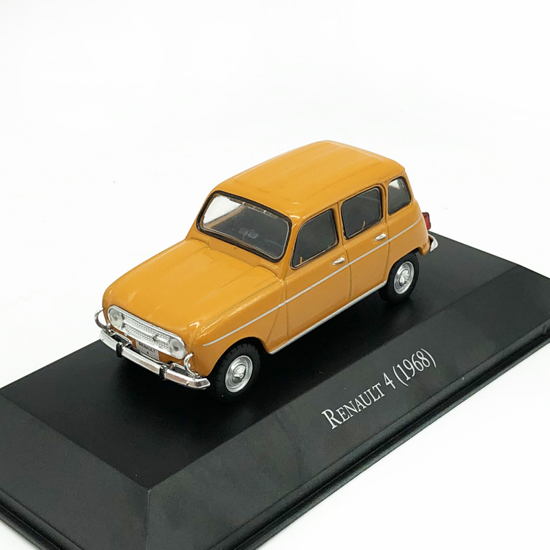 <font><b>IXO</b></font> 1/43 RENAULT 4 1968 Renault Alloy Car Model Static Car Collection Model for Gift image