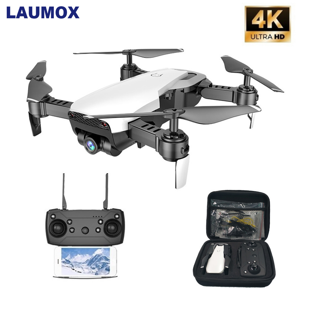 LAUMOX M69G FPV Drone with 4K HD Camera Drone Wide-angle WiFi Foldable Selfie Drone Optical flow RC Quadcopter Vs E58 M69 Drone