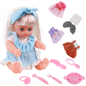 12 inch bebe Reborn Doll Girl Fashion Waterproof Baby Lifelike Doll Baby Toy For Kids Children Birthday Gifts Best Playmate