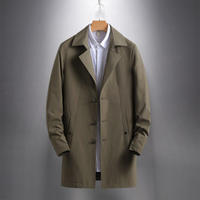 Mens Trench Coat Spring Autumn Men's Fashion