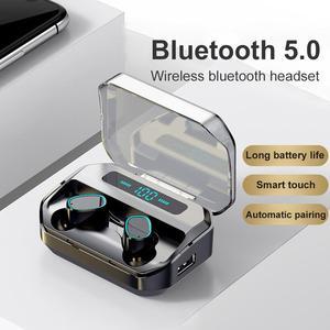 M8 TWS Bluetooth Earphones Wireless Headphone 2200mAh Charging Box Sports Waterproof Digital display Earbuds Headsets With Mic