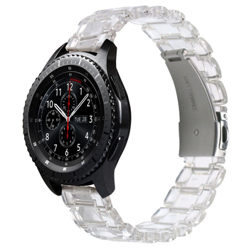 watchbands for samsung galaxy watch 46mm active 2 amazfit bip band 22mm 20mm Transparent strap for huawei watch gt 2e correa