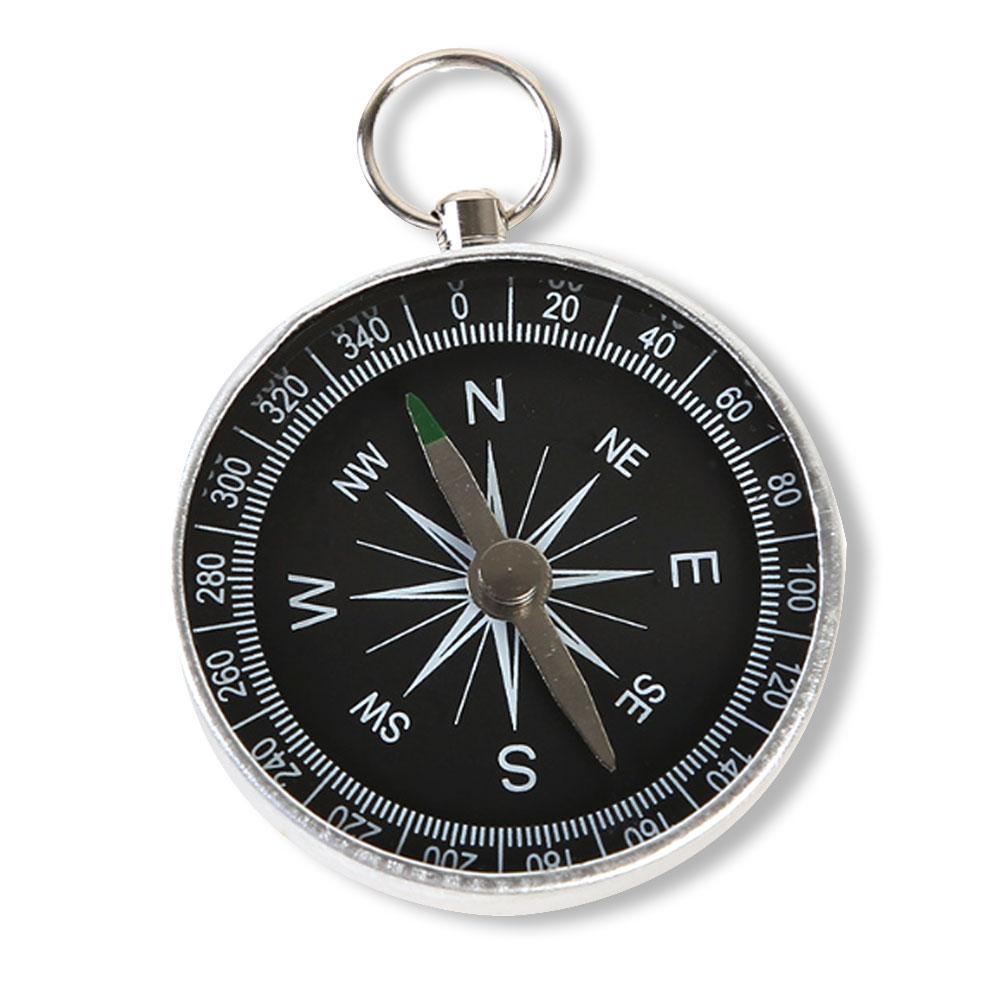 1507 Portable Pocket Mini Compass Keyring For Outdoor Sports Camping Navigation