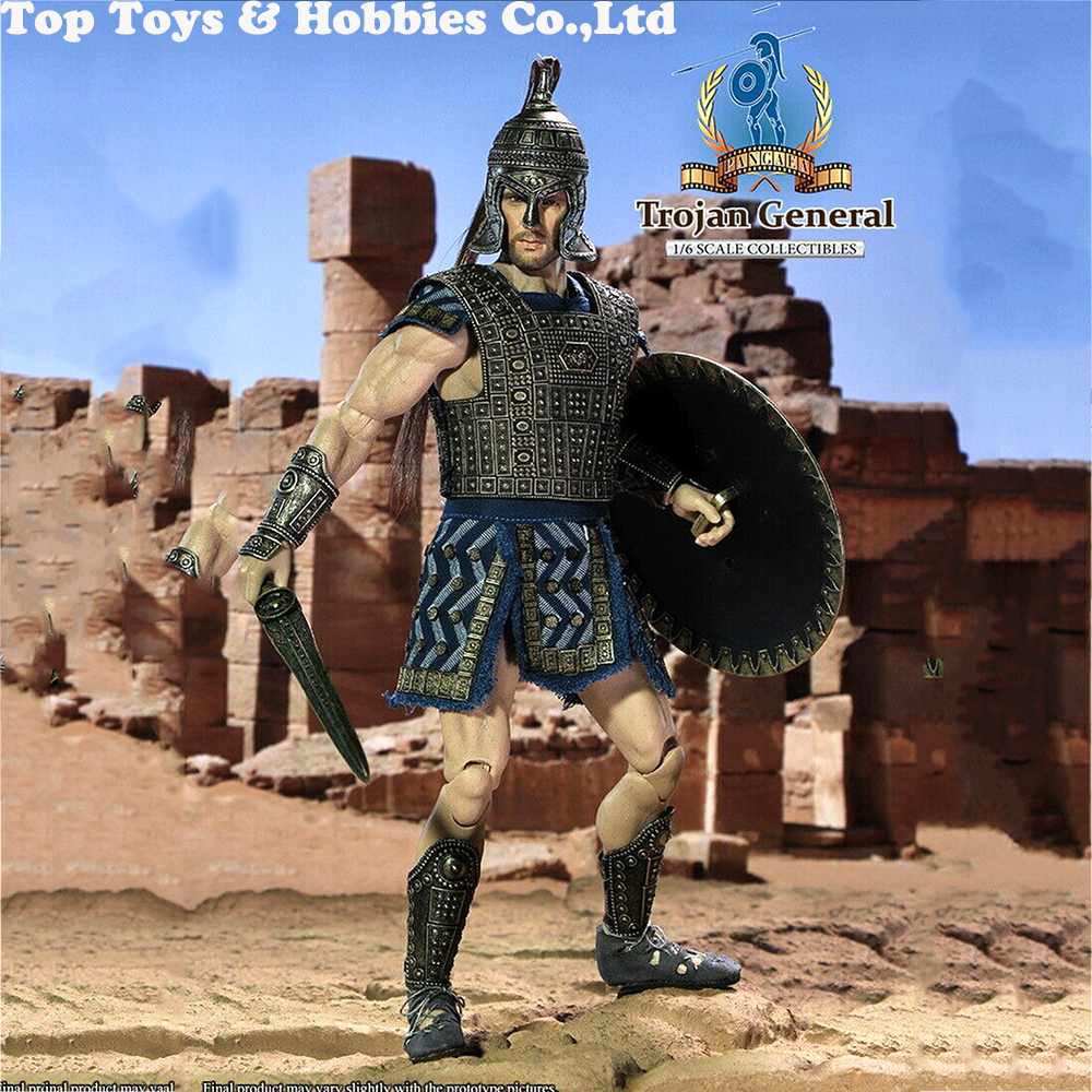 Full set 1/6 Scale PangaeaToy PG-03 TROJAN GENERAL Soldier Figure 12inches For Collectible Gift Dolls TOYSDAO TD-03 figure doll