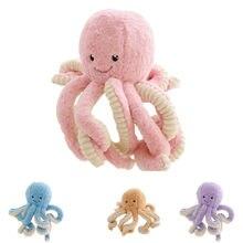 Bonito dos desenhos animados simulação pingente de pelúcia bonecas brinquedo macio animal de pelúcia animal marinho para decoração de casa presentes de aniversário