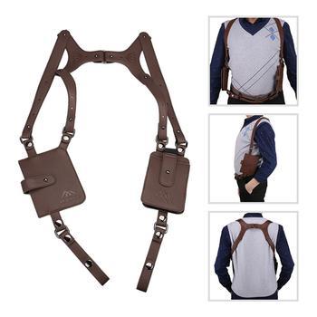 Anti-Theft Hidden Underarm Strap Wallet Pocket Holster Phone Shoulder Holster Bag Leisure Double Shoulder недорого