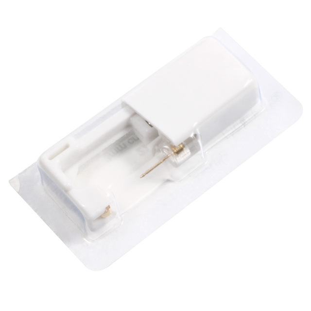 1pc Disposable Safe Sterile Piercing Tool Ear Cartilage Nose Stud Piercing Gun Piercer Machine Kit Stud.jpg 640x640 - 1pc Disposable Safe Sterile Piercing Tool  Ear Cartilage Nose Stud Piercing Gun Piercer Machine Kit Stud Earring Body Jewelry