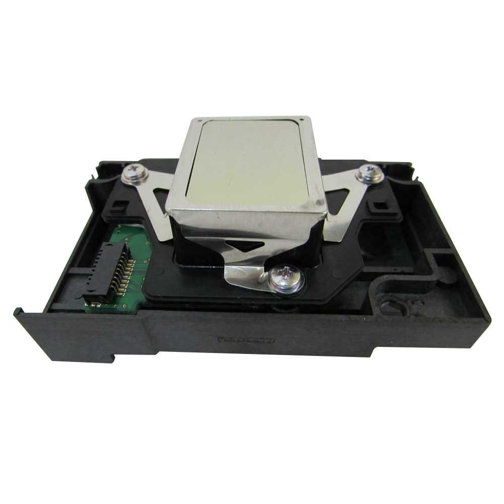 Print Head Jelas Langsung Cocok Pengganti Bagian Tahan Lama Alat Direnovasi Kantor Extruder Nozzle Semprot Mudah Diterapkan untuk Epson R1390