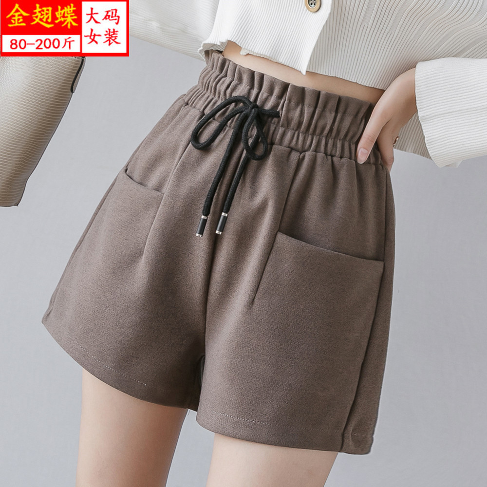2020 New Women's Sports Shorts Double-layer Anti-light Sweat-absorbent Breathable High Elasticity