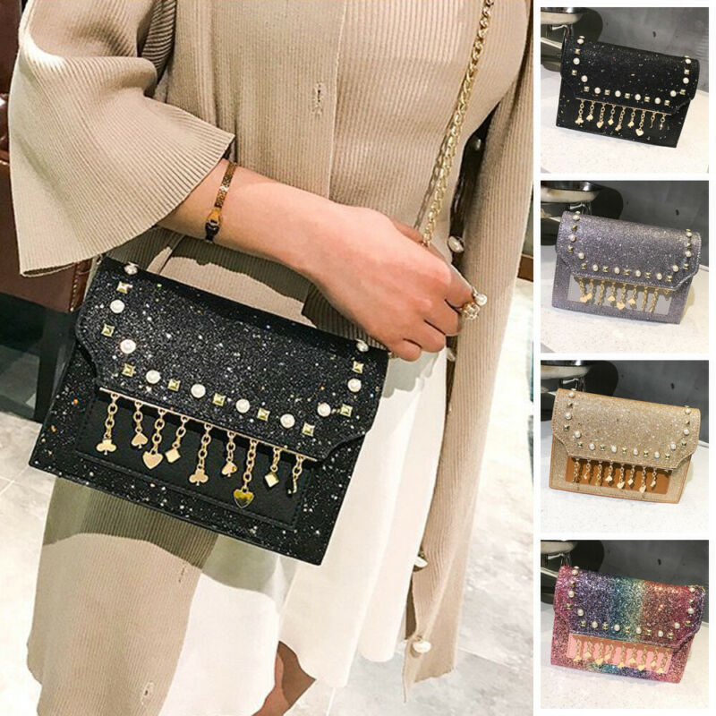 Women Small Handbags Ladies Chain Crossbody Bag Shoulder Bag Evening Handbag Tote /BL1