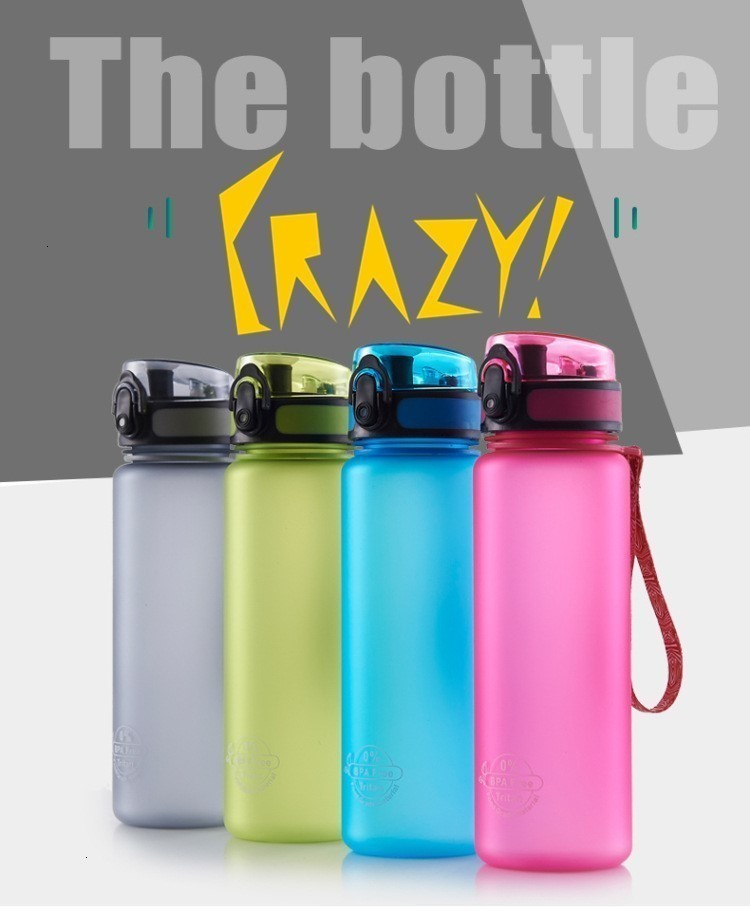 H487c11c4a6a348b193ab5800ef7450b8A Soffe Tritan Plastic Sport Drink Bottle Elastic Cover Space Bottle Riding Hiking Student Portable Outdoor Sport Water Bottles