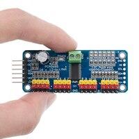 TENSTAR ROBOT 16 canaux 12 bits PWM/Servo Driver-I2C interface PCA9685 module framboise pi bouclier module servo bouclier