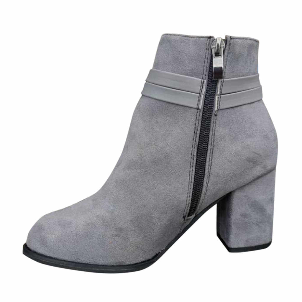 2019 winter stiefel frauen grau feste stiefel frauen Mode Fringe Solide Einzigen Schuhe frau Kurze Stiefel weiche elegante botas mujer