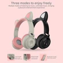 무선 헤드폰 Bluetooth 5.0 이어폰 스테레오 이어 버드 블루투스 헤드셋 저음 음악 무선 HiFi 이어폰 (마이크 포함)
