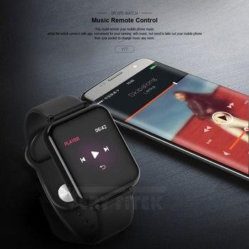 VERYFiTEK B57 montre intelligente pression artérielle oxygène Fitness Bracelet montre moniteur de fréquence cardiaque IP67 hommes femmes Sport Smartwatch B57 4