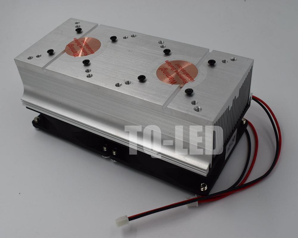 DC12V Aluminum Heatsink With For 20W 30W 50W 100W High Power Led Radiator