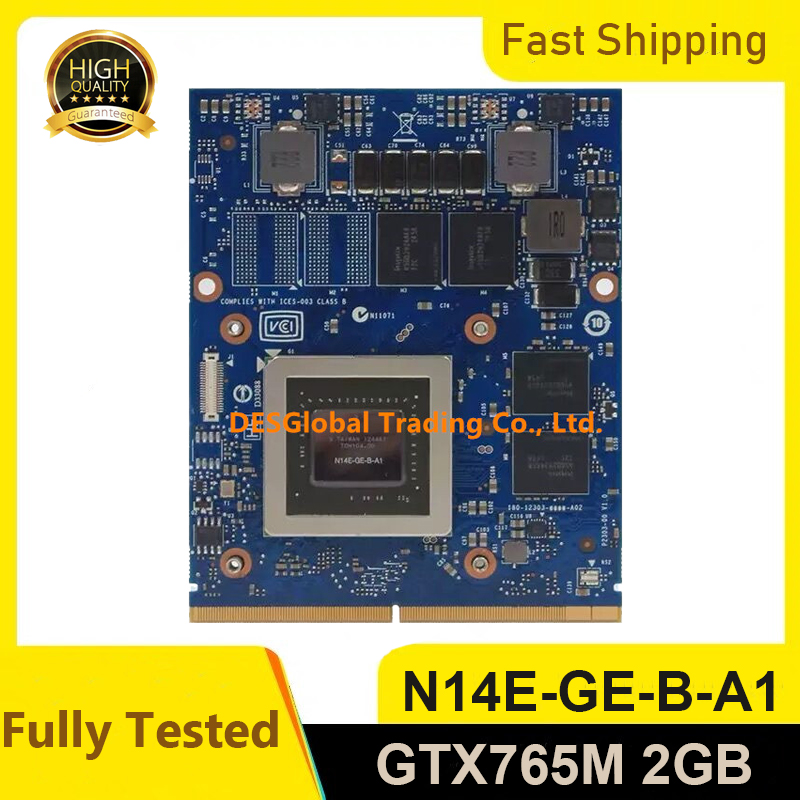 GTX765M GTX 765M 2GB For Dell Alienware M18X M17X R3 R4 R5 R6 M15X IMAC A1311 A1312 Graphics Video Card N14E-GE-B-A1