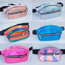Women Men Fanny Pack Clear Glitter Waist Belt Bum Bag Pouch Hip Purse Travel Bag Crossbody Wallet Belt Travel Shoulder bag 4.7 star detail glitter crossbody bag