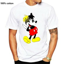 Begrenzte XXXTENTACION MICKY DOLCH MAUS männer Weiß T-Shirt Größe S-5XLShort Hülse Casual, Angemessener Großhandel t shirt