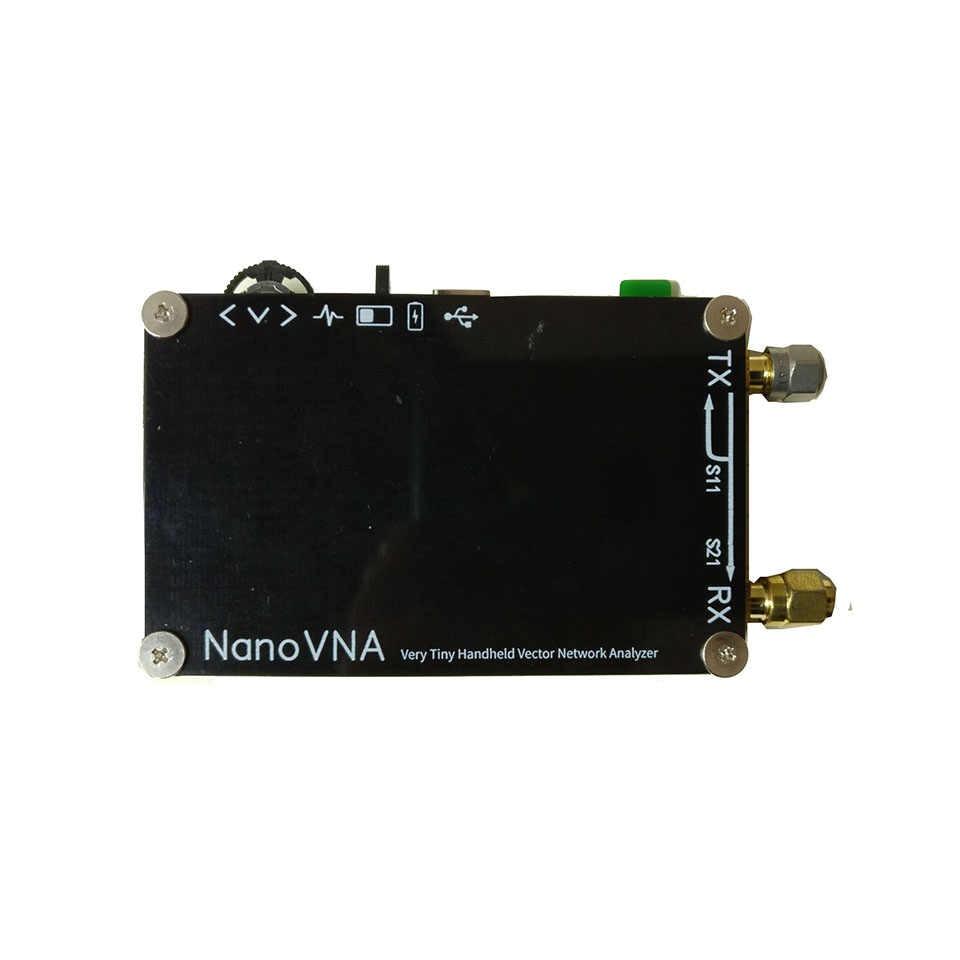 NanoVNA векторный сетевой анализатор 50 кГц-300 МГц антенный анализатор 2,8 дюймов lcd smith MF HF VHF UHF с батареей