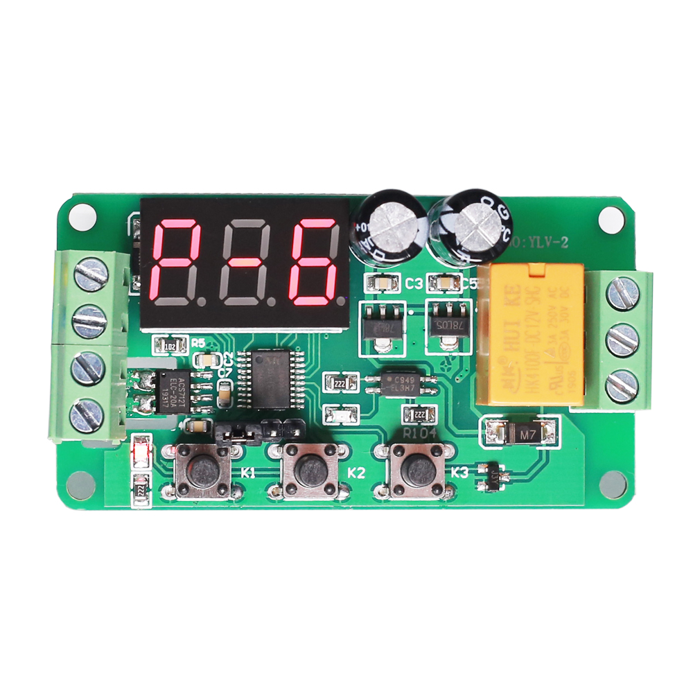 Motivated Dc 12v 0-5a Current Detector Current Switch Relay Controller Module Ac/dc Current Monitor Led Display Adjustable Work Mode Excellent (In) Quality