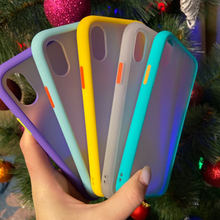 SevenJia shockproof phone case for iphone 11 pro max xr x xs max 7 8 6 plus soft tpu edge matte back pc candy color back cover uslion ultra slim matte frameless phone case for iphone 11 pro max xs max xr x 6 6s 7 8 plus candy color hard pc back cover