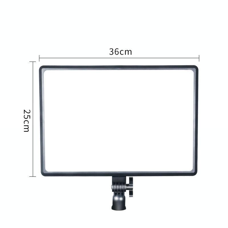 H487de49e48d64bdd858737f734bbbc32o 14inch 10inch LED Video Lighting Panel EU Plug 3200K-6000K Photography Lighting Remote Control For Live Stream Photo Studio Lamp