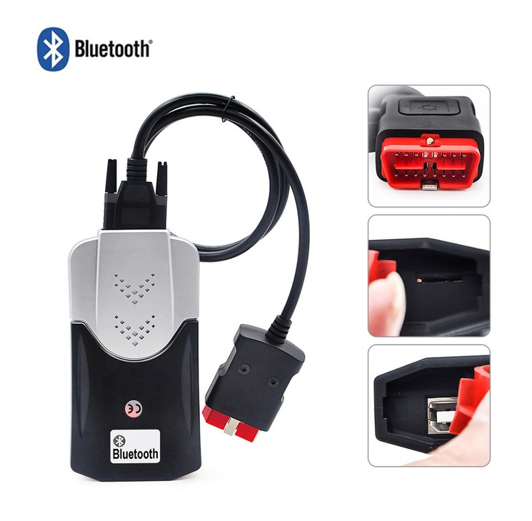 2019 VD DS150E CDP Bluetooth for delphis 2016 0 R0 with keygen obd2 Scanner for cars trucks