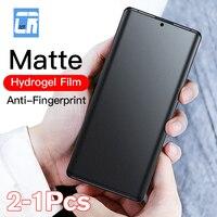 Anti Fingerprint Matte Hydrogel Film für Oneplus Nord 8 7T 9 Pro Screen Protector auf Ein Plus 6 6t Nord 10 Matt Film Keine Glas