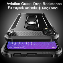 Aviation shockproof Ring Phone Case For Huawei Honor 10 9 8 7 lite Play Note 10i 9i 8A 8C 8S 8X Max 5 7A 7C 6 5X V20 V10 V9 V8(China)