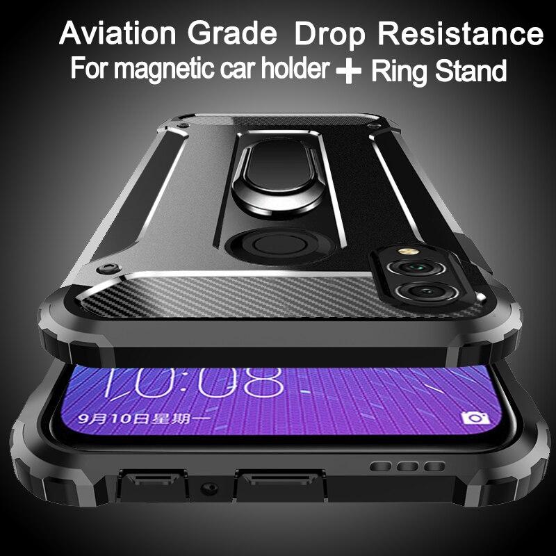 Luftfahrt stoßfest Ring Telefon Fall Für Huawei Ehre 10 9 8 7 lite Spielen Hinweis 10i 9i 8A 8C 8S 8X Max 5 7A 7C 6 5X V20 V10 V9 V8