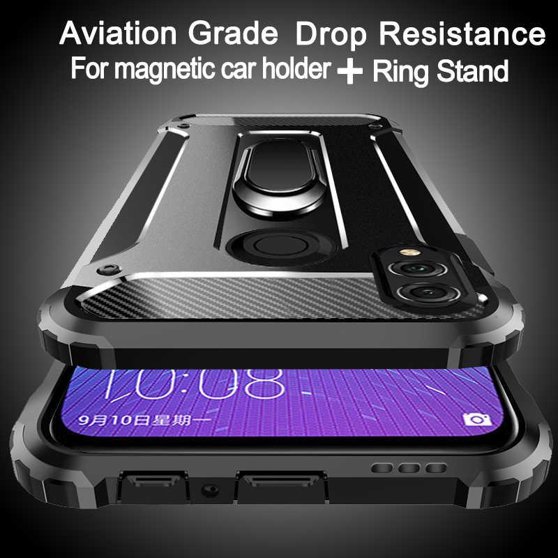 Penerbangan Shockproof Cincin untuk Huawei Honor 10 9 8 7 Lite Bermain Catatan 10i 9i 8A 8C 8S 8X Max 5 7A 7C 6 5X V20 V10 V9 V8