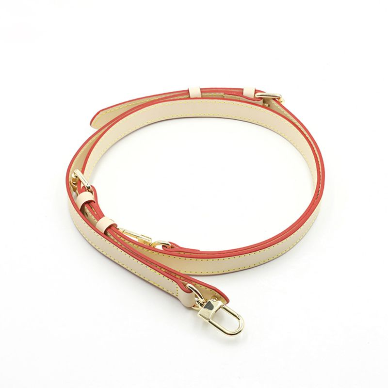 Fashion Leather Shoulder Bag Belt Strap with Metal Buckles Crossbody DIY Replacement Accessories