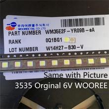 1000 Chiếc Cho WOOREE Cao Cấp LED Đèn Nền LED 2W 6V 3535 150LM Trắng Mát Màn Hình LCD Có Đèn Nền Cho tivi WM35E2F YR09B eA Ứng Dụng Truyền Hình