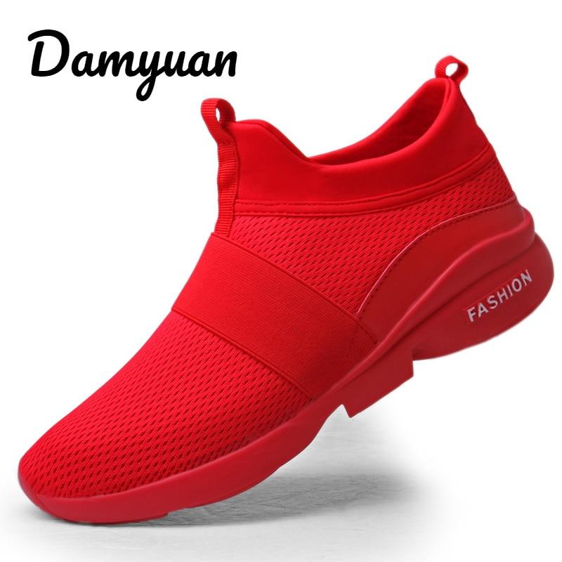 Damyuan 2019 Woman Shoes Sneakers Flats Sport Footwear Men Women Couple Shoes New Fashion Lovers Shoes Casual Lightweight Shoes