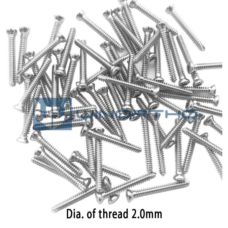 VET Animal 2.0 Veterinary Orthopedic Instruments Medical  Compression Plate Bender Screw Case AO Synthes
