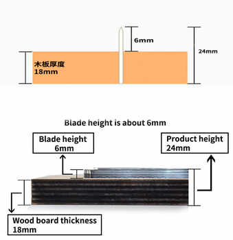 Japan Steel Blade DIY leather craft Template women handbag knife mould hand punch tool wood dies cutter for leathercraft 300mm
