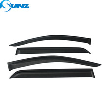 Car window rain deflectors For Toyota KLUGER 2007-2010 door visor for  2007 2008 2009 2010 assessories SUNZ