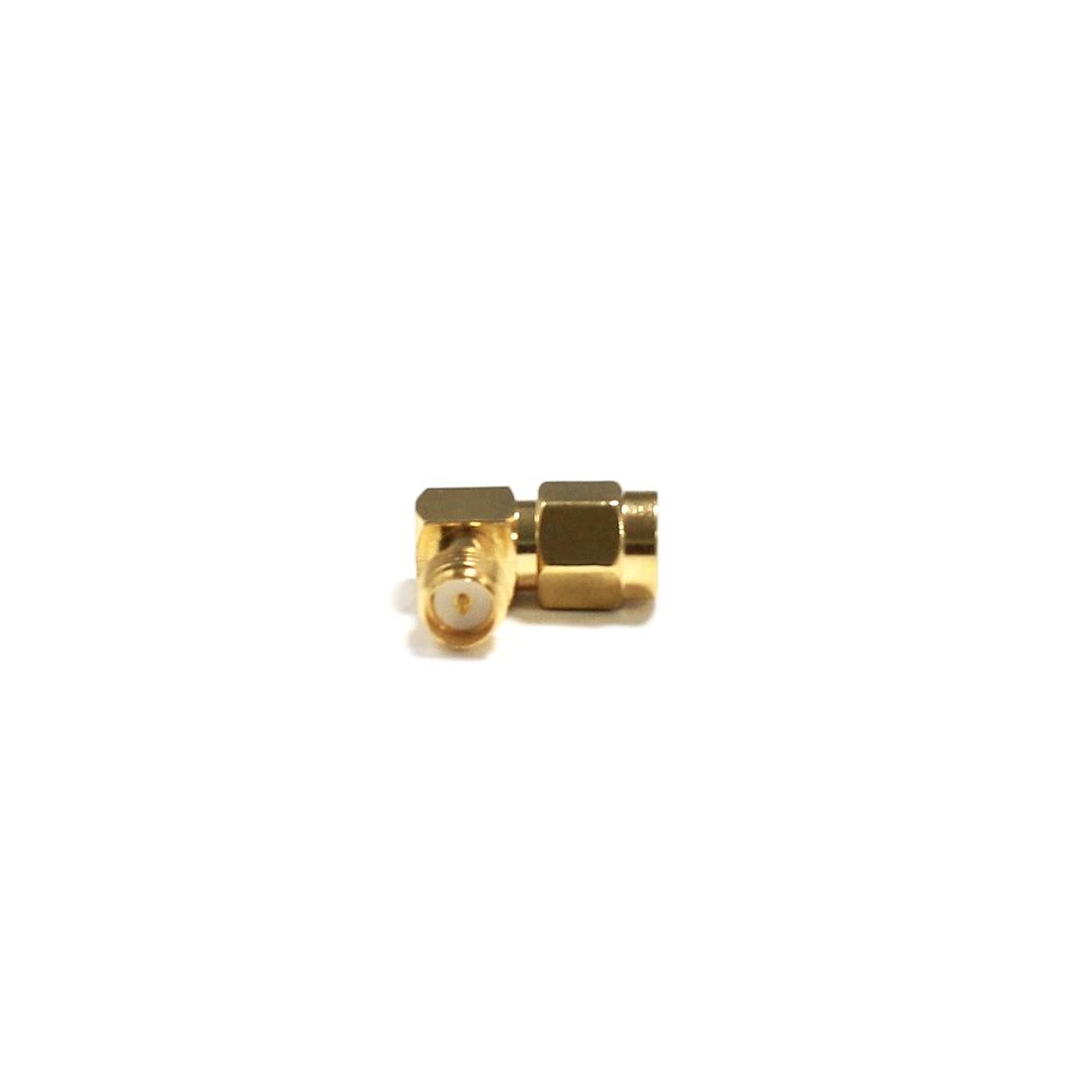 1 шт. SMA штекер для RP SMA женский разъем RF коаксиальный адаптер модем конвертер прямоугольный позолоченный оптовая продажа