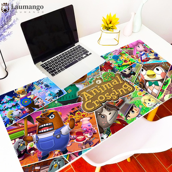 Animal Crossing Mouse Pad Gamer large gaming accessories Mousepad Natural Rubber Keyboard  Computer Desk Mat Boy Gift mini pc 1