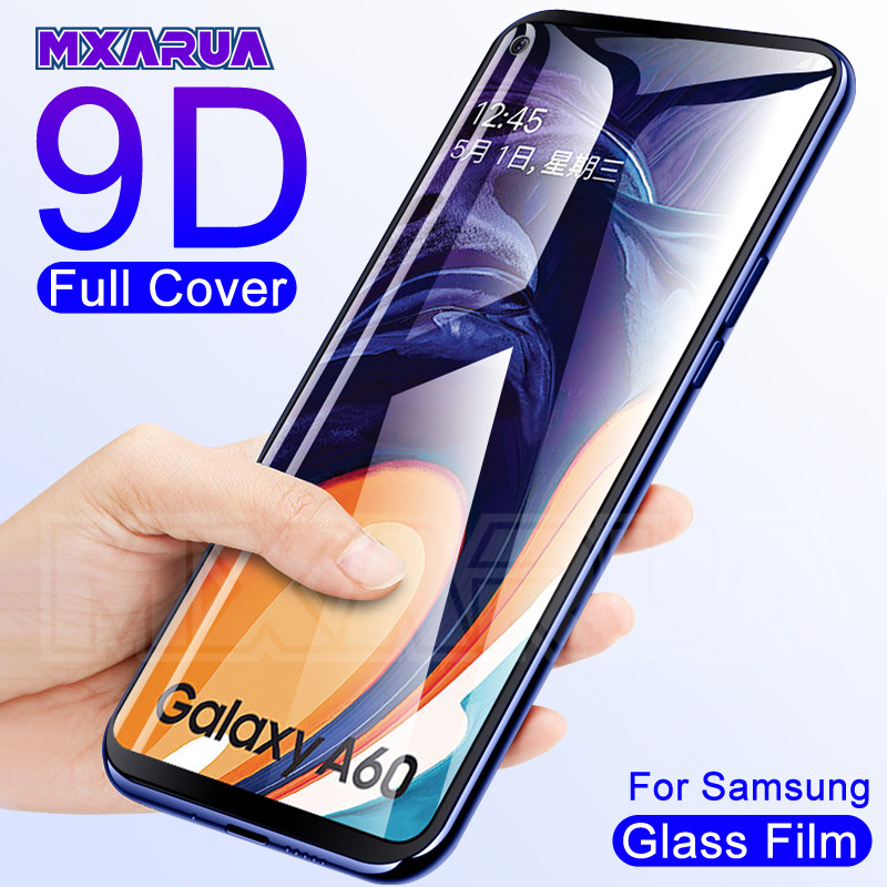9D Tempered Glass For Samsung Galaxy A10 A20 A30 A40 A50 A60 A20E A40S Screen Protector Samsung A70 A80 A90 Glass M20 M30 M40