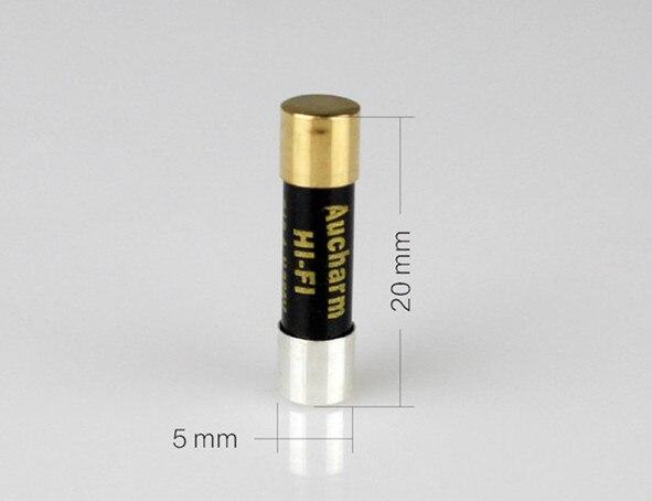 5X20 ateş hifi hattı gümüş alaşım nano sigorta tüpü ses sigorta 0.5 1A 2A 3.15A 4A 5A 6.3A 8A 10A 15A 13A