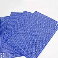 1 шт. креативный A3 ПВХ прямоугольные линии сетки режущий коврик инструмент пластиковые инструменты для рисования 45 см * 30 см